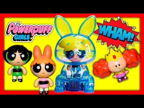POWERPUFF GIRLS Uses Bubbles Power Pod Adventure Funny Toy Parody
