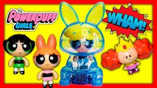 POWERPUFF GIRLS Uses Bubbles Power Pod Adventure Funny Toy Parody