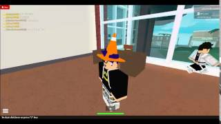 Roblox Little Brother let's plays episode 1 school (College)