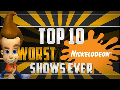 Top 10 Worst Nickelodeon Shows Of All Time