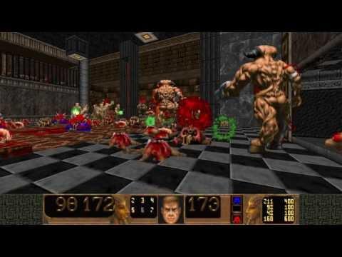 [Doom 2] Monster-infightings in Epic 2 Playthrough  