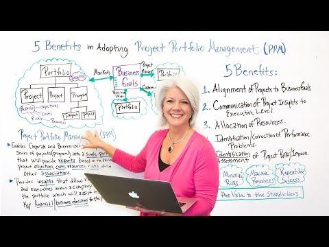 5 Benefits in Adopting Project Portfolio Management - Project Management Training
