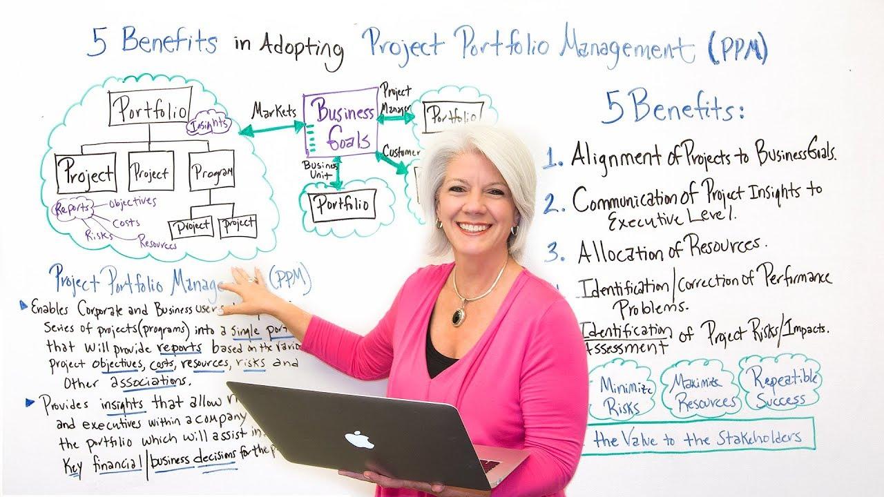 project portfolio management diagram [ 1280 x 720 Pixel ]