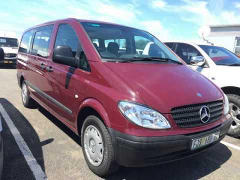 2008 mercedes benz vito crew bus 115 cdi auto for sale on for Mercedes benz vito for sale