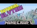 Minecraft Tutorial | How To Get The ELYTRA In Survival (LEGIT)