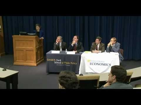 .@fordschool - U.S. Macroeconomic Policy: Steps Toward Recovery Panel
