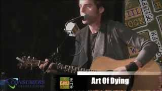 Art of Dying - Rising Up in StudioEast (Die Trying, Everything, Broken Wings (cover), Rise Up