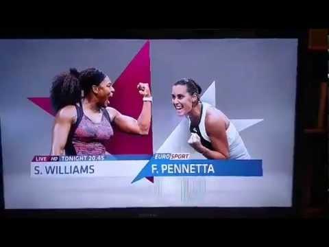 Eurosport: spot finale US Open 2015... Williams-Pennetta!