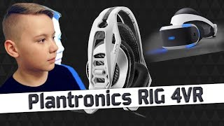Plantronics RIG 4VR для PS VR  ИГРОВАЯ ГАРНИТУРА ОБЗОР 🎧 Gaming Headset for Playstation VR 🎧