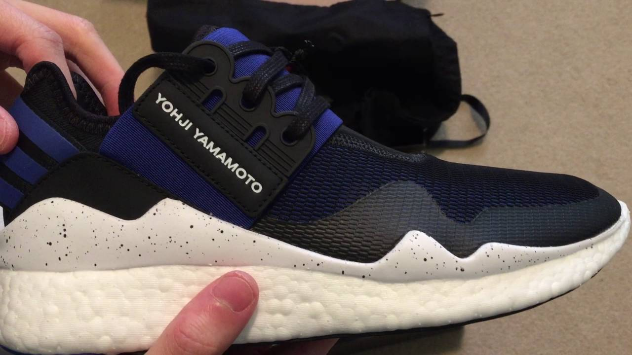 finest selection ff578 9e2e6 Y-3 Retro Boost Sneaker Unboxing - YouTube