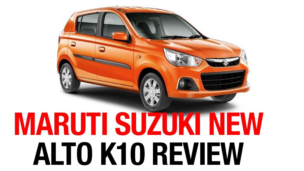 Maruti suzuki new alto k10 review by hmtv race exclusive report
