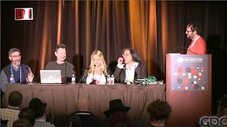 In this 2014 GDC panel, game designers and educators Richard Lemarc...