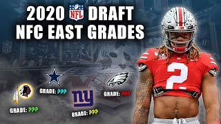 2020 NFL Draft Grades | All 7-Rounds | NFC East