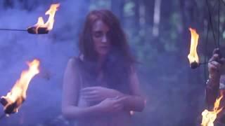 Манижа клип. Участие в музыкальном клипе. Огненное шоу.