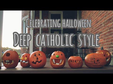 Celebrating Halloween Deep Catholic Style!