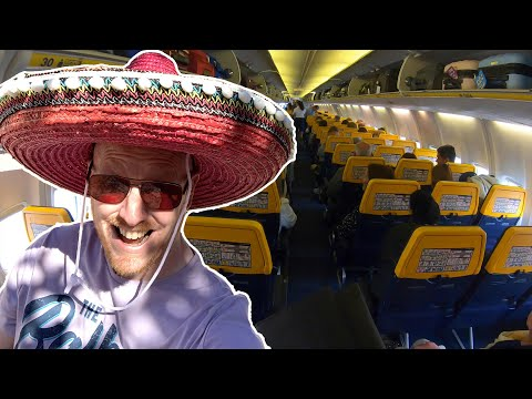 The Ryanair Experience! FLYING TO SPAIN FOR LUNCH!