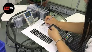 Проверка и тестирование ИК пульта дистанционного управления для телевизоров AVEL
