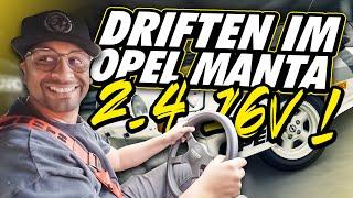 JP Performance - Driften im Opel Manta 2.4!