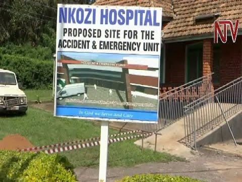 Nkozi hospital breaks ground on construction of emergency treatment unit