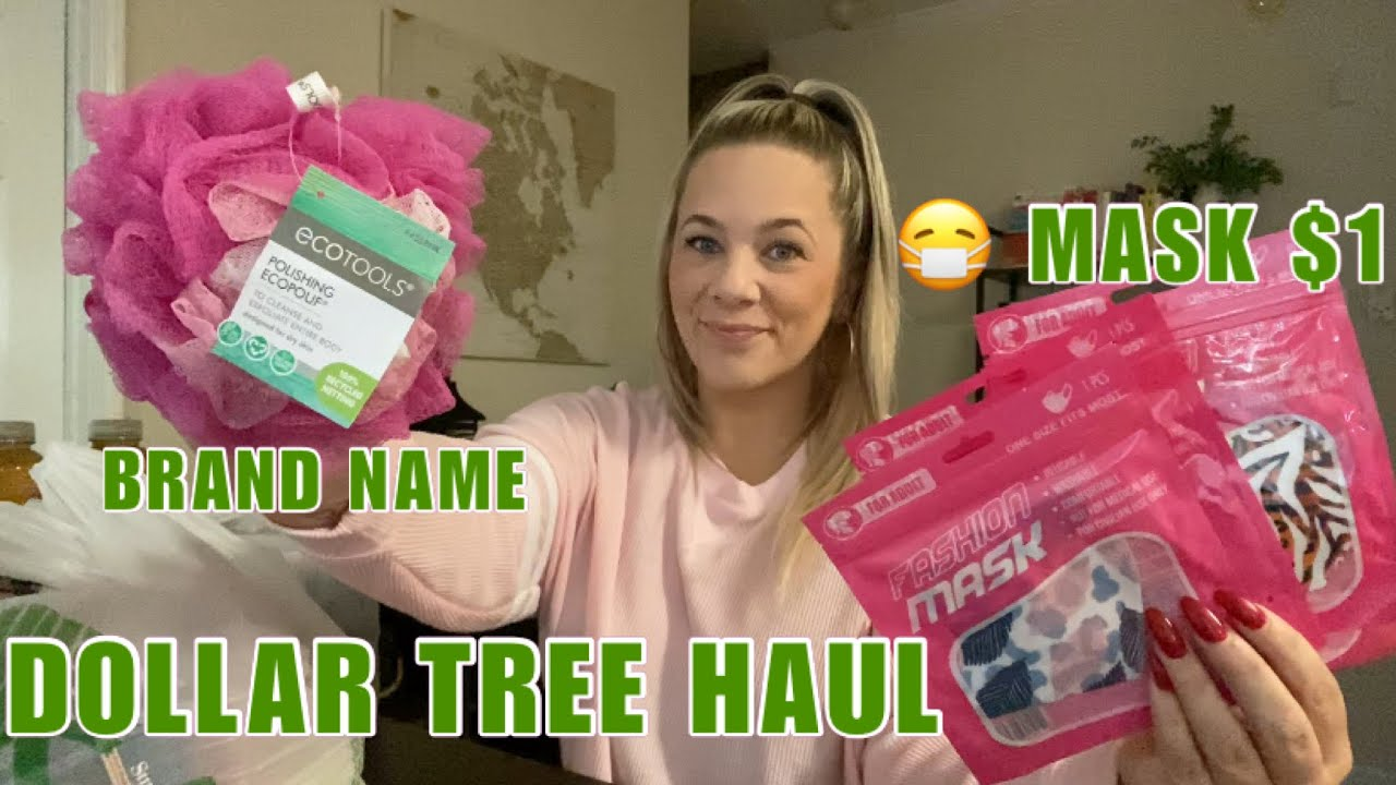 NEW DOLLAR TREE HAUL+MASK+BRAND NAME ITEMS+SNACKS