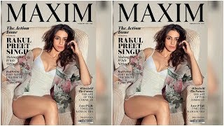 Rakul preet singh Hot Maxim Photoshoot 2018