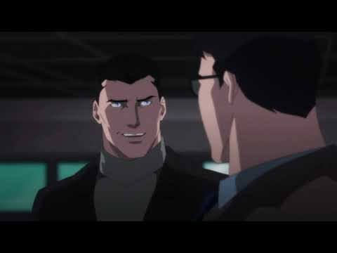 Bruce Wayne meets Clark Kent (Batman: Hush 2019)