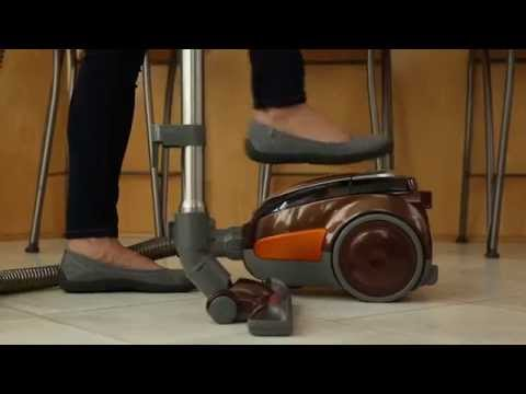 bissell 1161 hard floor expert deluxe canister vacuum - youtube