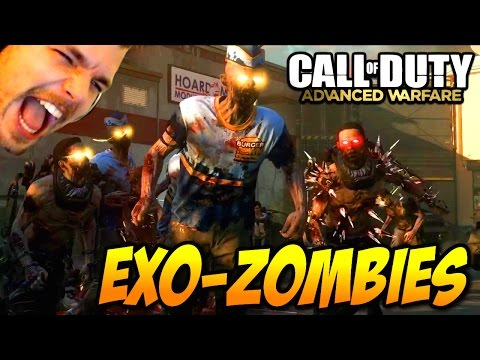 Advanced Warfare : Exo-Zombies Gameplay avec Sackzi