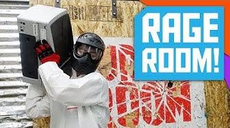 Destruction in a Rage Room!