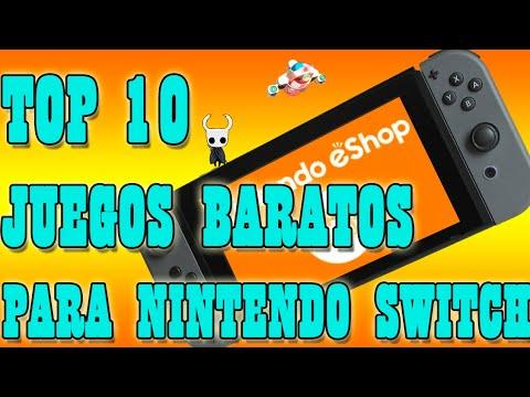 Top 10 Juegos Baratos Para Switch 2018 Youtube