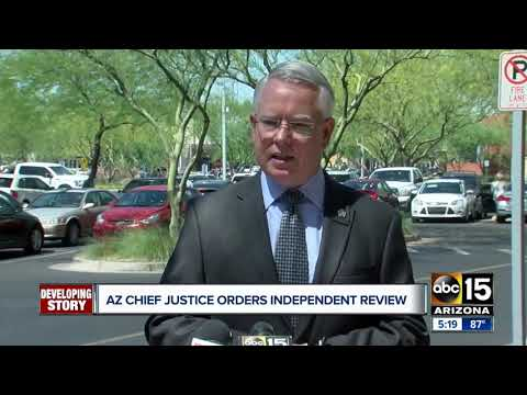 Arizona Chief Justice orders independent review of Montgomery, Martinez