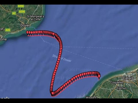 2017 ENGLISH CHANNEL SWIM