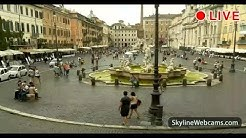 Live Webcam from Piazza Navona in Rome - Italy