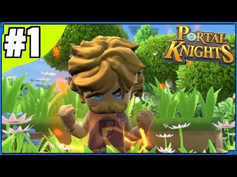 Portal Knights - 3D Terraria?! | Part 1 | Portal Knights Gameplay / Portal Knights Let's Play