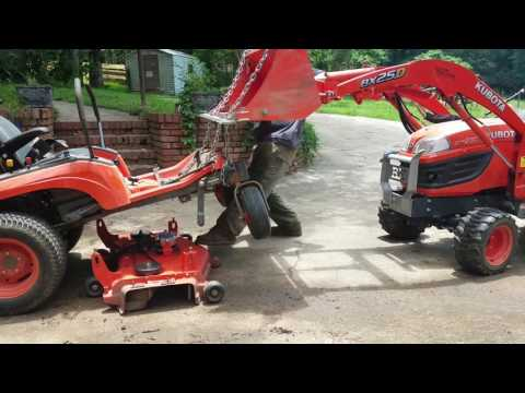 ZG222 Mower Deck TLC - YouTube