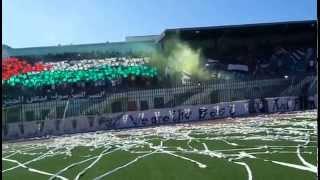 جماهير فيلاج موسى جيجل يزلزلون الملعب من اجل فلسطين