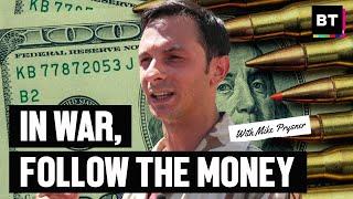 Blood Money: War Vet Mike Prysner Breaks Down Who Got Rich Off 20 Year Afghan War