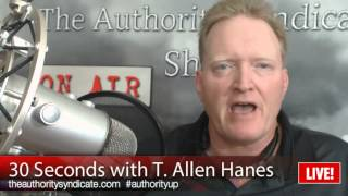T Allen Hanes The key To Happiness | The Authority Syndicate