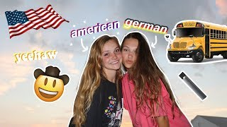 how a german exchange student thinks about americans..♥︎ (in the south)