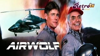 Intro el lobo del aire (Airwolf 1984-1986)widescreen HQ