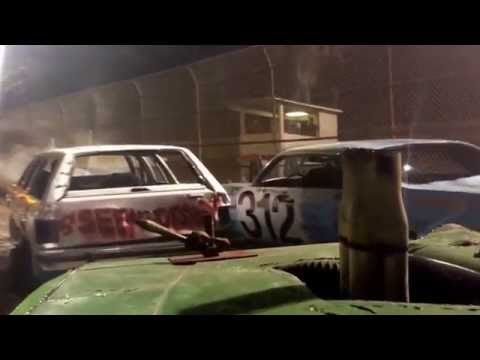 Hendry county speedway 1st demo derby