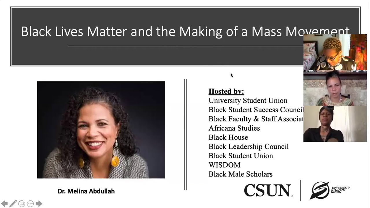Download USU Diversity and Inclusion Presents: Black Lives Matter and the Making of a Mass Movement