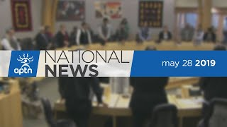 APTN National News May 28, 2019 – Canadian law and UNDRIP, Boushie film, Inuit people in Winnipeg