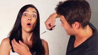 "Boyfriends Cut Their Girlfriends' Hair(If you ponytail it and cut it, I'll kill you."" Check out more awesome videos at BuzzFeedVideo! http://bit.ly/YTbuzzfeedvideo MUSIC Spice It Up Scorch Electro Nine ..., 2015-07-23T21:30:00.000Z)"
