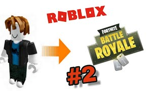 Ich teste Ein Fortnite Spiel in Roblox #2 / Deutsch HD / Viddy awa