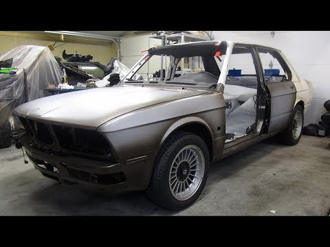 1987 BMW E28 Alpina B7 Turbo Katalysator Restoration Project