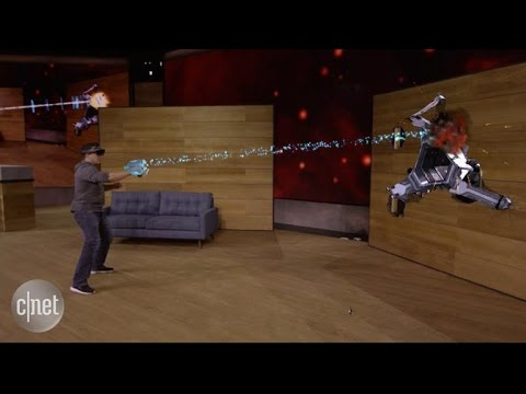 Watch Microsoft's Stunning New HoloLens Gaming Demo