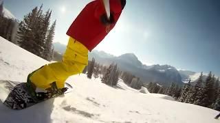 Большая скорость на сноуборде