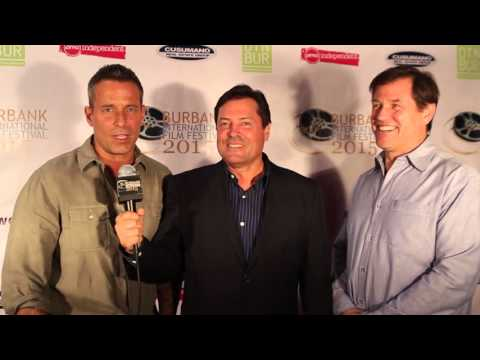 Red Carpet with Johnny Messner and Michael Paré