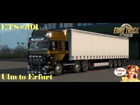 ETS#301 Transporting 31 Tons of Furniture from Ulm to Erfurt 390 KM